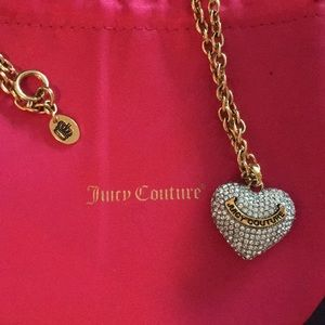 Juicy Couture Jewelry - Juicy Couture heart 💛necklace